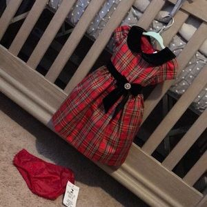 Worn once rare editions baby girls dress size 12M